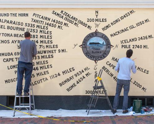 Hazlegrove Wall Lettering